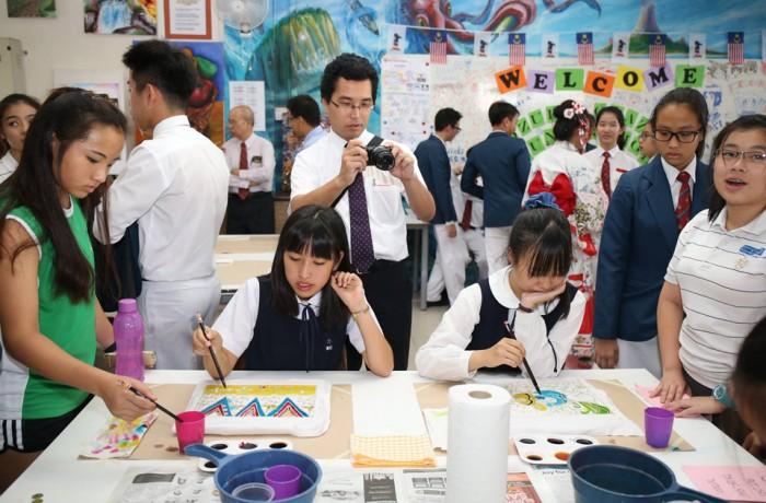 Hosting Students from Fuzoku Okazaki JHS, Japan