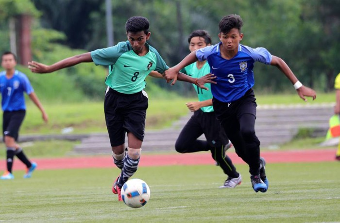 Inter House Football Finals