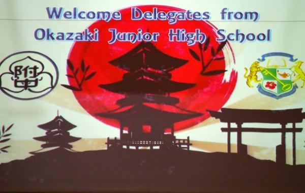2018 Okazaki JHS delegates visit Sri KL