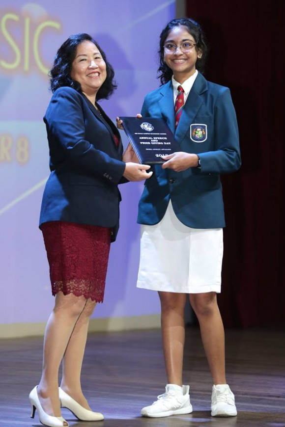 2019 Secondary Speech Day