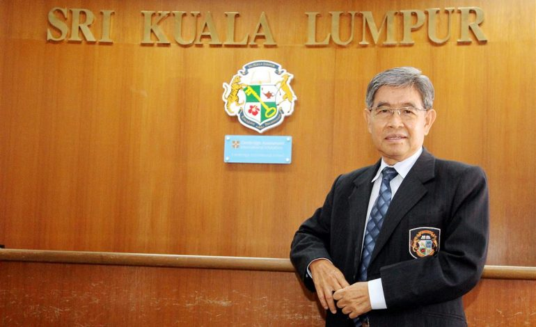 Today, Chew Teck Ann is the principal of Sri KL International School. He describes it as a 24/7 job.